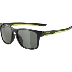 Alpina Flexxy Cool Kids I Brille Kinder black/neon yellow/black mirror